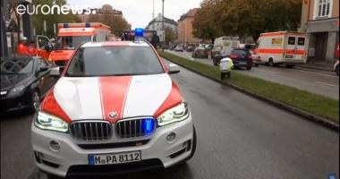VIDEO / Un roman se află printre victimele atacului de la Munchen