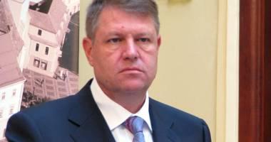 """Klaus Iohannis: """"România are nevoie de obiective naţionale"""""""
