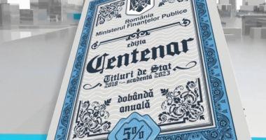 Românii pot subscrie pentru titlurile de stat