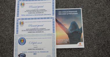 Rompetrol Rafinare, locul 1 în topul firmelor din Constanța