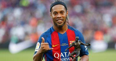 DECIZIE luată de Ronaldinho, urmărit de Justiţie