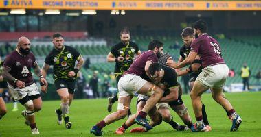 Rugby / Irlanda a învins Georgia în Cupa de Toamnă a Naţiunilor