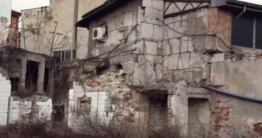 Ruinele din spatele Tribunalului