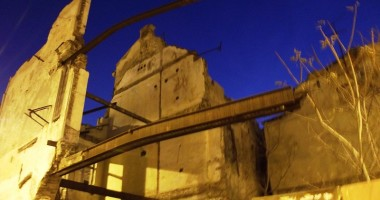 Ruinele din piața Ovidiu