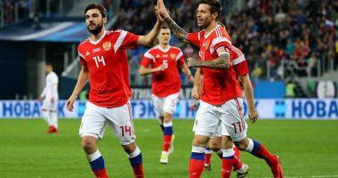 CM 2018 / Rusia - Arabia Saudită 5-0. Rușii au marcat două goluri în ultimele 5 minute