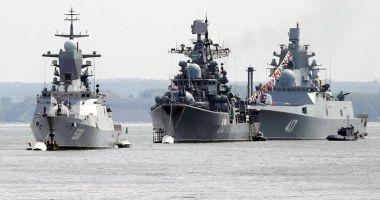 Rusia începe manevre militare la sud de strâmtoarea Kerci în Marea Neagră