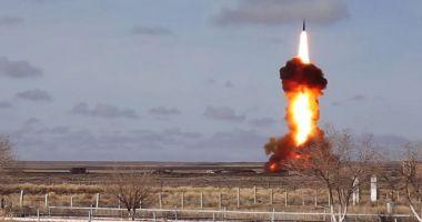 Rusia produce cutremurul. A testat cu succes o rachetă intercontinentală
