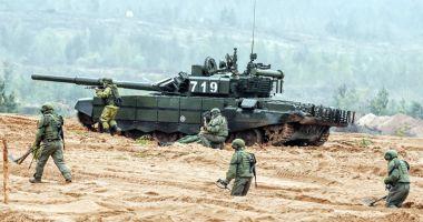 Alertă la NATO! Rusia începe cel mai mare exerciţiu militar din istorie