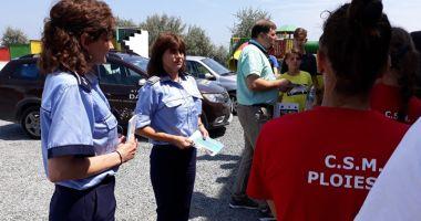 S-a dat drept poliţistă în Eforie şi a păgubit o bătrână de peste 3.000 de lei