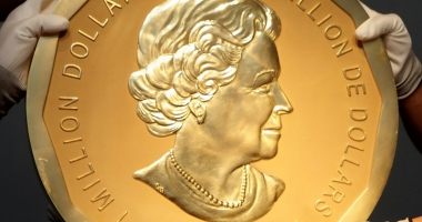 Spargerea secolului, în Germania. Monedă de aur de 100 kilograme, furată dintr-un muzeu