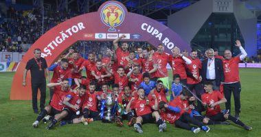 Un an de când FC Viitorul a câștigat Cupa României