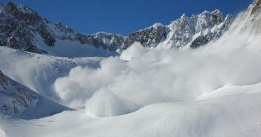 Grijă mare dacă sunteţi în vacanţă la munte! Atenţionare de pericol ridicat de avalanşă