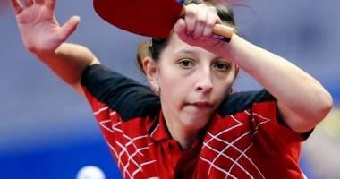 Elizabeta Samara și Bernadette Szocs, la ITTF Europe Top 16