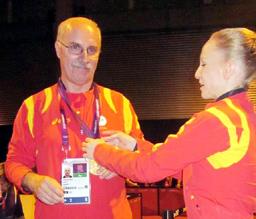 Gest fantastic al campioanei Sandra Izbaşa
