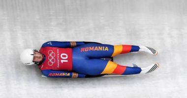 Echipajul României, locul 10 la sanie