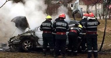 S-a triplat num�rul incendiilor la autoturisme �n acest an