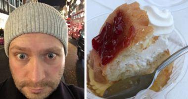 Reacţia DEMENŢIALĂ a unui englez după ce vecinul său român i-a dat să mănânce câteva SAVARINE