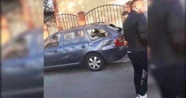 VIDEO / Scandal în cartierul Medeea! Șapte persoane au fost duse la audieri