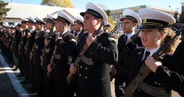 Festivitate de deschidere la Şcoala Militară de Maiştri Militari a Forţelor Navale