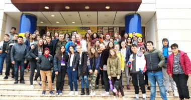 """Şcoala """"Grigore Moisil"""", gazdă pentru profesori şi elevi din Italia, Belgia şi Macedonia"""