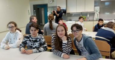 """Elevii Şcolii """"Gheorghe Ţiţeica"""", în Finlanda"""
