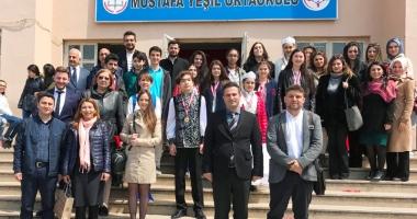 Elevi constănţeni, în vizită la o şcoală  din Istanbul.
