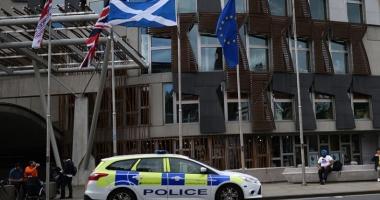 Panică la Edinburg: Parlamentul scoțian, evacuat
