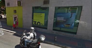 Luare de ostatici la Madrid - un bărbat înarmat a vrut să jefuiască o bancă. Suspectul, ARESTAT
