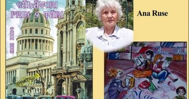 Scriitoarea Ana Ruse lansează două cărți