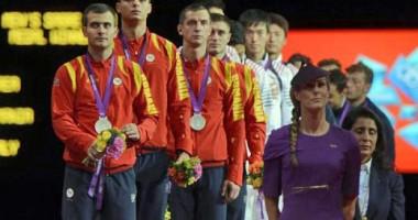 Jocurile Olimpice 2012: Echipa masculină de sabie pierde finala cu Coreea de Sud şi rămâne cu medalia de argint