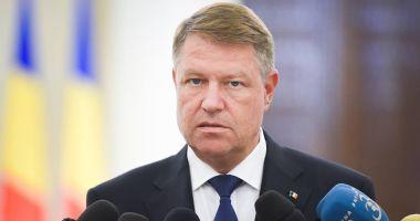 Klaus Iohannis face declaraţii de presă, la Bruxelles, după Summitul NATO