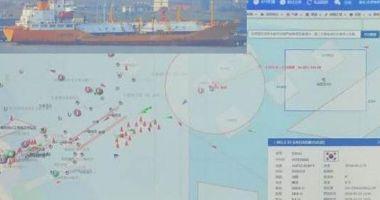 Scurgeri periculoase de gaze pe o navă LPG
