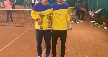 Tenismenul Sebastian Gima, dublu campion naţional la categoria U18
