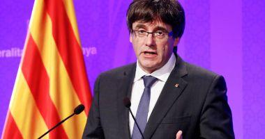 Secesioniştii catalani îl susţin din nou ca lider pe Carles Puigdemont