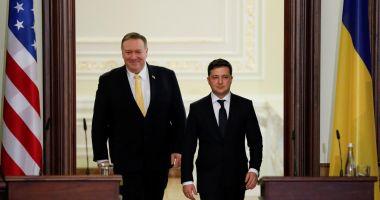 Secretarul de stat Mike Pompeo, vizită în Ucraina
