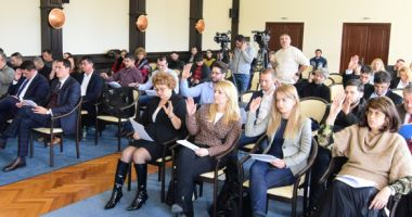 Protest în CL Constanța. Liberalii  s-au abținut de la vot la toate proiectele
