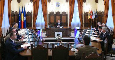 Ședința CSAT, suspendată de Iohannis. Va fi reluată pe 19 decembrie