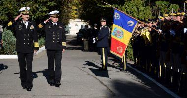 Șeful Forțelor Navale Ucrainene, în vizită la Academia Navală