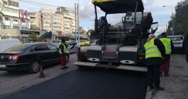 Trafic restricționat. Se lucrează în cartierul Faleză Nord