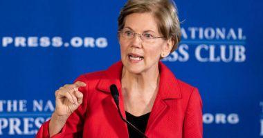 Senatoarea democrată Elizabeth Warren îndeamnă la destituirea lui Trump