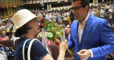 Seniorii Constanței, sărbătoriți de administrația locală cu premii în bani