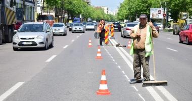 GALERIE FOTO / Atenţie, constănţeni! Se asfaltează în zona City Park