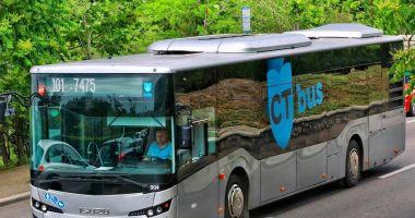 Se primesc cereri pentru permisele de călătorie gratuite, cu autobuzele CT Bus