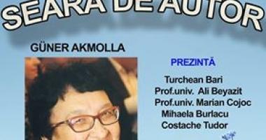 Seară de autor dedicată scriitoarei Güner Akmolla