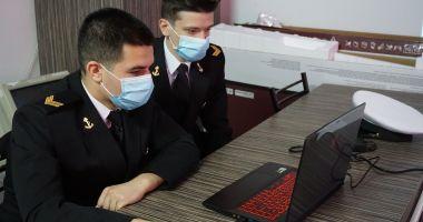 Sesiune de comunicări științifice a elevilor militari