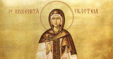 Credincioșii o cinstesc, sâmbătă, pe Sfânta Filofteia, iubitoarea de Dumnezeu