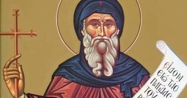 Duminică, îl cinstim pe Sfântul Anton