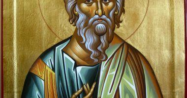 Credincioșii îl sărbătoresc, sâmbătă, pe Sf. Apostol Andrei