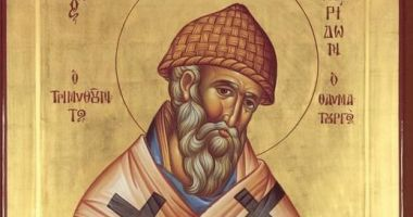 Creștinii îl sărbătoresc pe Sfântul Spiridon, făcătorul de minuni