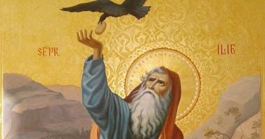 Sfântul Proroc Ilie aduce ploaia peste pământul însetat